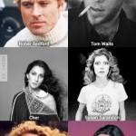 70-es években a sztárok így néztek ki: