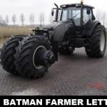 Batman úgy döntött szakmát vált :)