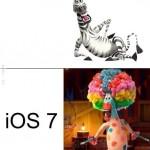 iOS6 VS. iOS7