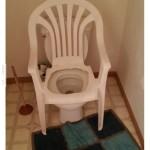 Kényelmes WC szék :)