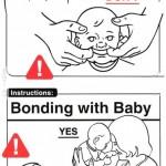 Csecsemő, használati utasítás…