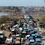 Forgalmi dugó, Pakisztán