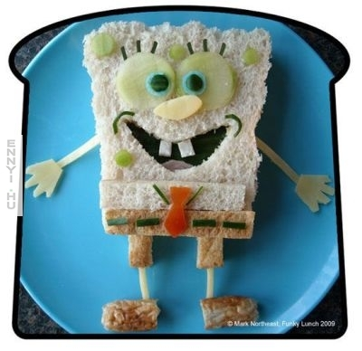 funky lunch spongebob-big