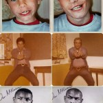 Családi fotók, régen és most