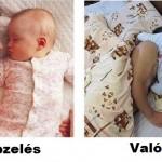 Velünk aludjon a baba? :)