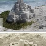Modern homokvárak készültek