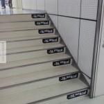 A lépcső és a kalóriaégetés eredménye