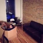 A család új kanapéja