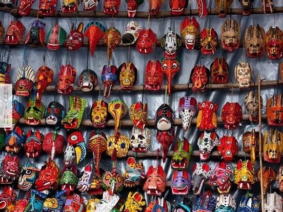 piaci stand guatemala