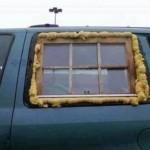 Autó szélvédőcsere, házilag