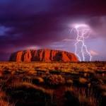 Ayers Rock az Uluru Nemzeti Parkban, Ausztrália
