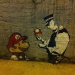 Super Mario sztori, graffity