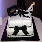 Egy fanatikus WoW esküvői tortája